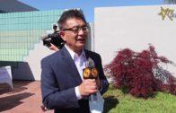 朱感生與華裔社團捐贈醫護物資給聖他克拉縣