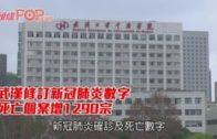 武漢修訂新冠肺炎數字 死亡個案增1290宗