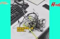 環保電線收納法 輕鬆收納一般電線+拖板!