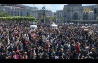 三藩市數千人集會抗議明州警員鎖頸案—呼籲和平表達訴求 San Francisco Peaceful Protest for George Floyd