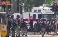 銅鑼灣制服示威者遇反抗  警被黑衣人搶犯刺傷