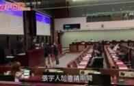 立會委員會續選主席 民主派忙示威張宇人玩「接龍」