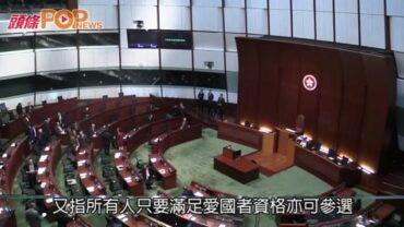 以民主派非民主派分類需改變 林鄭:建制派亦是民主
