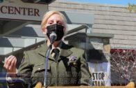 南灣反仇視亞裔集會發言:聖縣縣警長史密斯 Laurie Smith