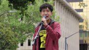 聖荷西反仇亞集會:聖荷西亞裔高中生  James Huang