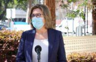 聖他克拉縣公共衛生主管科迪(Sara Cody)宣佈新冠變種病毒病例上升