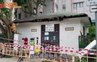 城巴「撞傷」最古老赤柱郵局 屋頂木製桁梁現裂痕