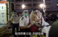 家庭糾紛|58歲母斬傷兒子手腳警携盾牌抵石籬邨調查